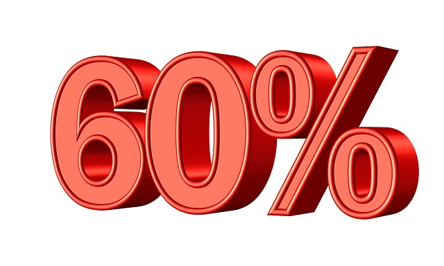60 procent
