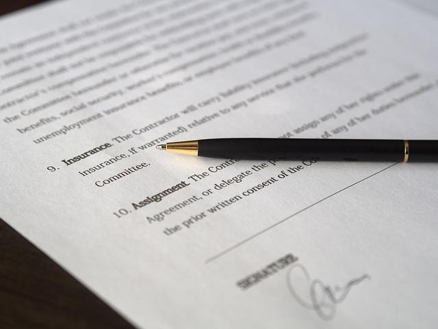 podepsání