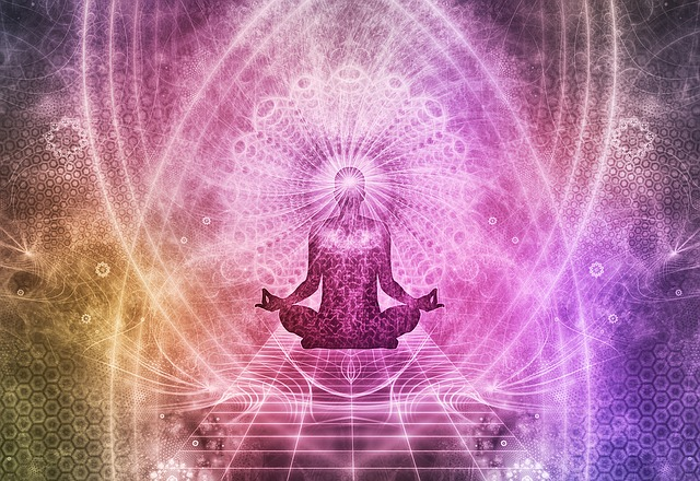 meditace u jógy