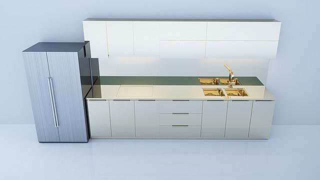 model kuchyně