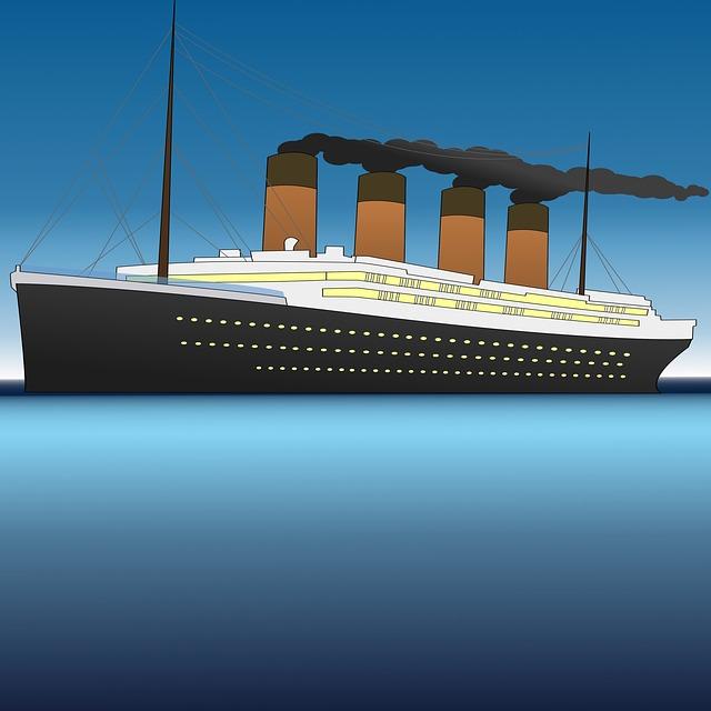 obrázek Titaniku