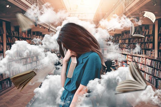 chaoz v knihovně