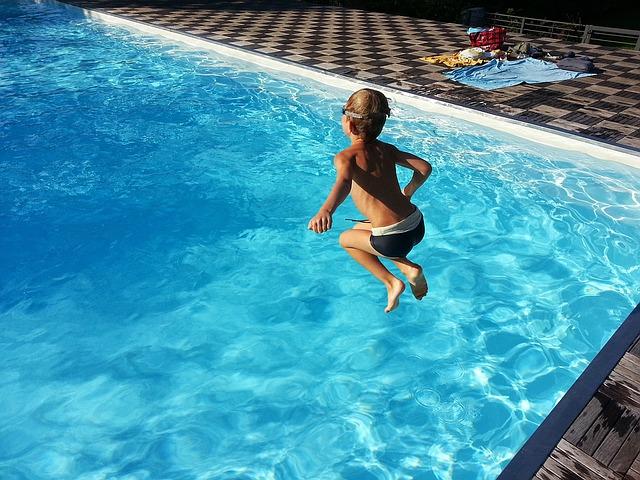 venkovní bazén pro děti