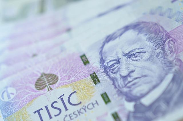 muž na bankovce