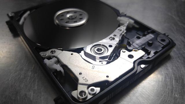 externí pevný disk