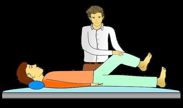 cvičení kolene