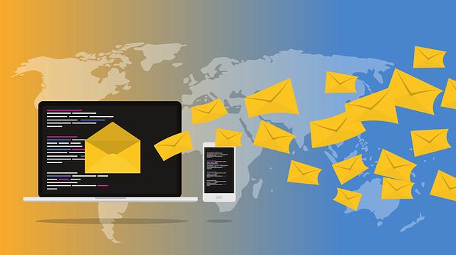 rozesílání hromadných e-mailů